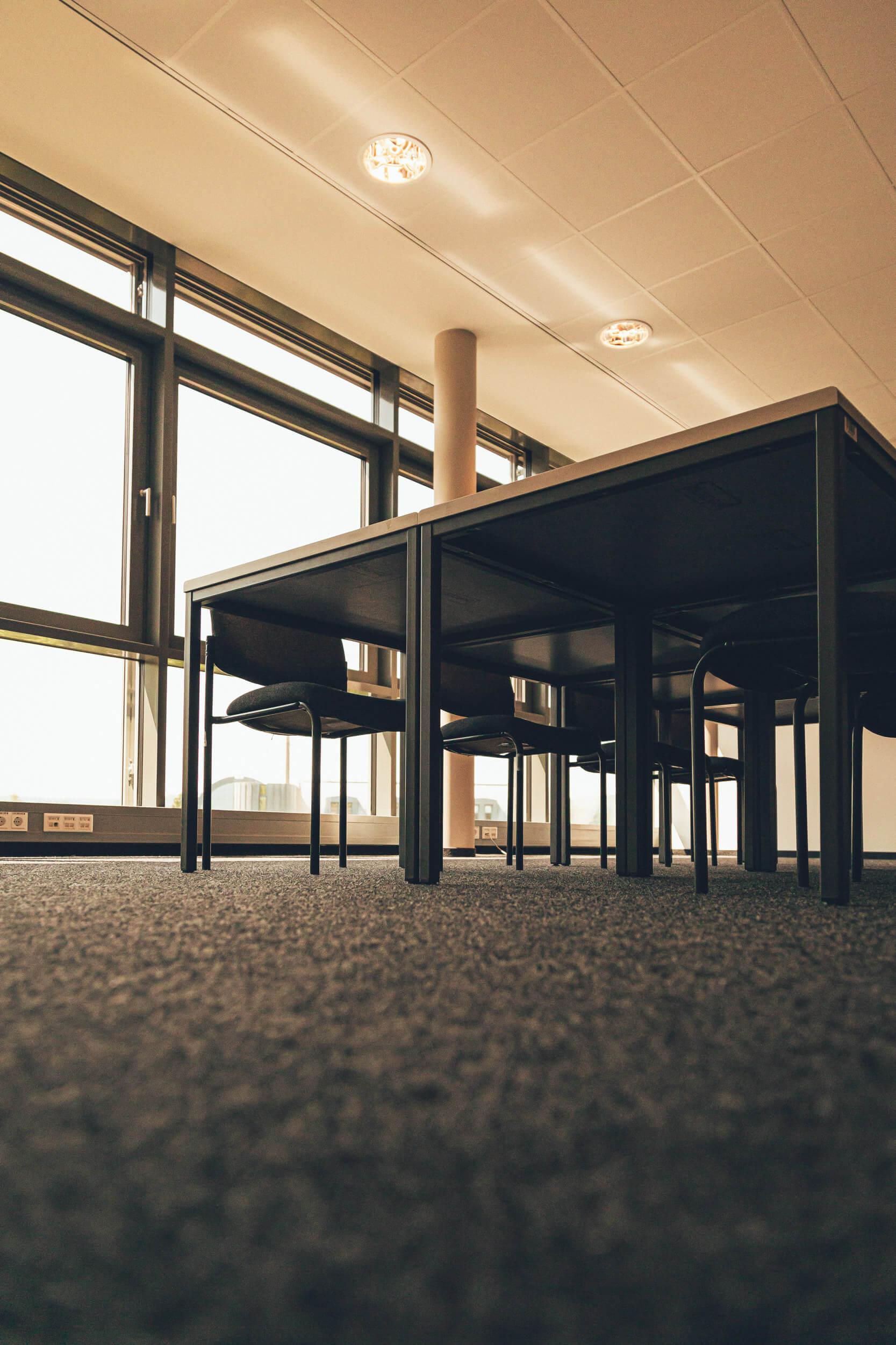 Foto eines Konferenzraums